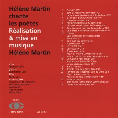 Verso CD n° 7
