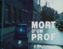 Pierre Arvay Mort d'un prof