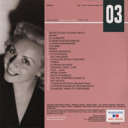 CD n° 3 back